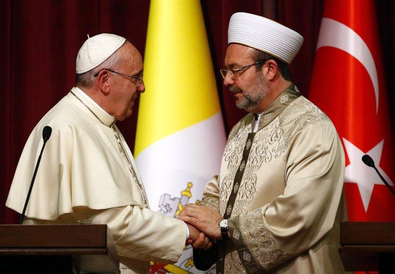 La visita del Papa Francisco a Turquía, en fotos