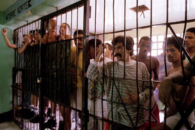 Una de las cárceles de Venezuela denunciadas por torturas a prisioneros.
