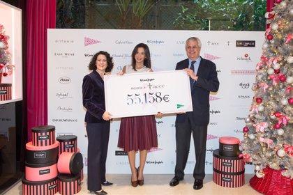 RSC.-El Corte Inglés entrega 55.158 euros para la lucha contra el cáncer de mama