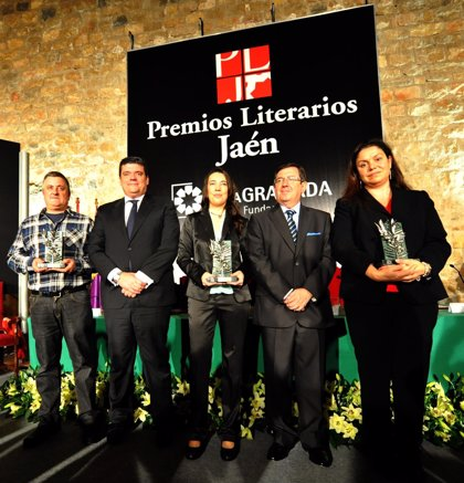 """Los Premios Literarios Jaén celebran su """"fiesta de las letras"""" con el acto de entrega de los galardones"""