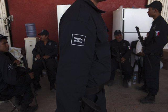 Policía Rural Estatal de Michoacán.