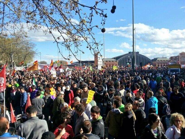 Marchas de la Dignidad en Madrid