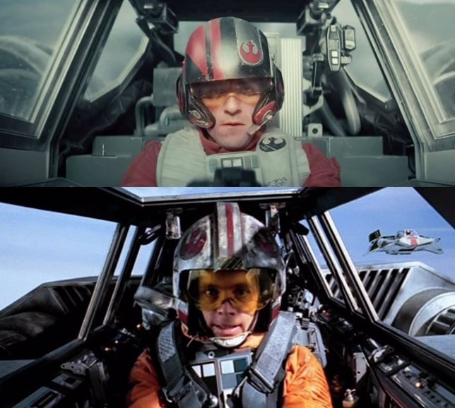 Comparativa de Star Wars