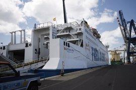 El mal estado del mar obliga a cancelar algunas rutas marítimas interinsulares en Canarias