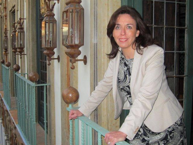 La presidenta de la Diputación, María Luisa Ceballos