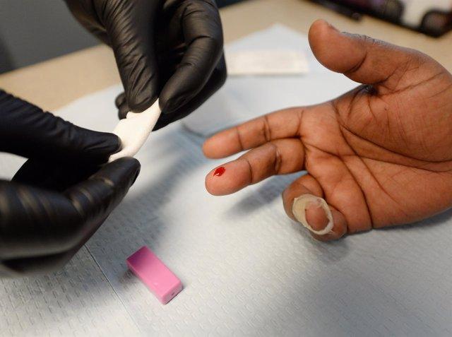 Prueba del VIH, sida