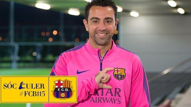 'Sóc Culer' Xavi Hernández Barcelona