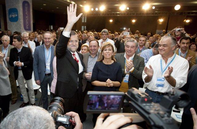 M.Rajoy,Alicia S.Camacho, Esteban Glez Pons