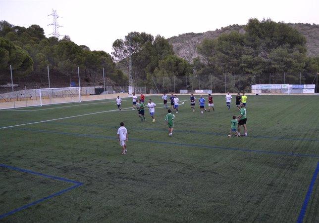 Campo de fútbol municipal de Monda