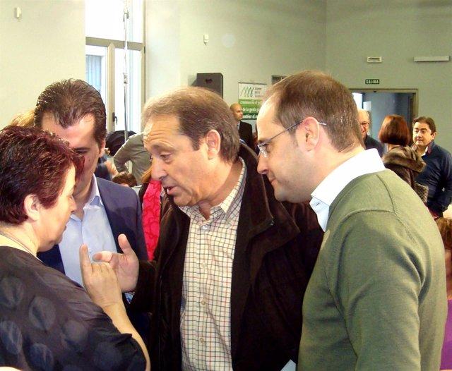 Luena, con Gordo y Luquero.