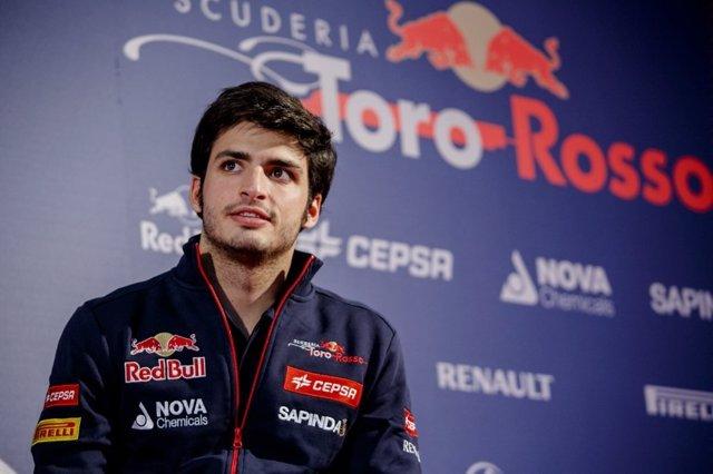 Carlos Sainz Jr. Presentación piloto Toro Rosso