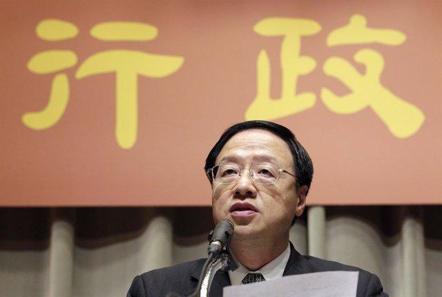 El primer ministro de Taiwán, Jiang Yi Huah