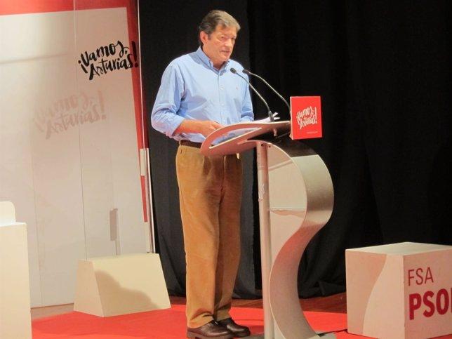 Fernández, durante su intervención en las jornadas.