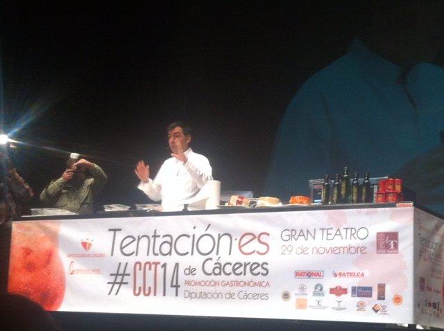 Ramón Freixa en Cáceres