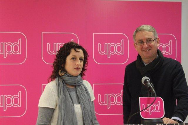 Montse Tonda y Ramon de Veciana, UPyD