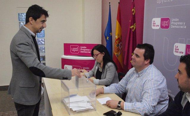 Rubén Serna liderará el proyecto de UPyD para la alcaldía de Murcia