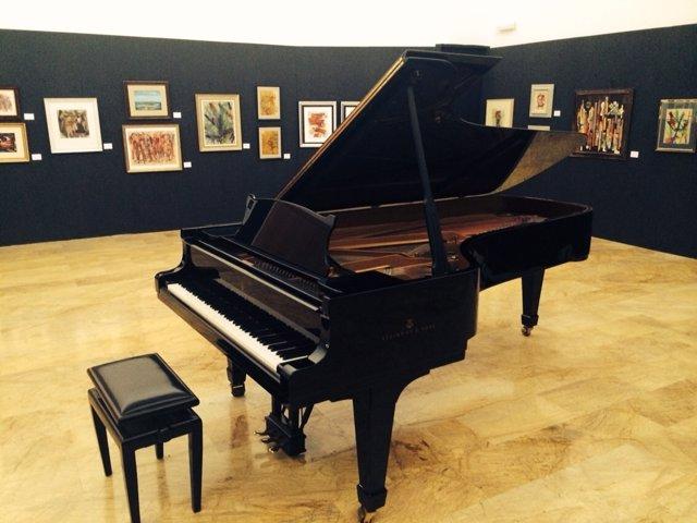 Antiguo piano Steinway
