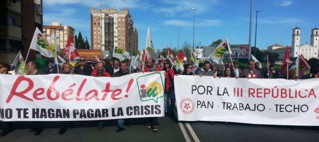 Marchas de la Dignidad en Huelva