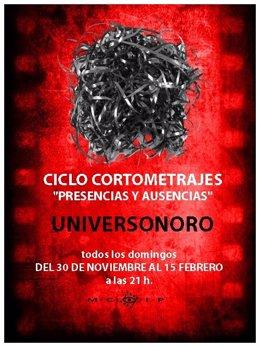 Cartel de la cuarta edición del ciclo 'Presencias y Ausencias'