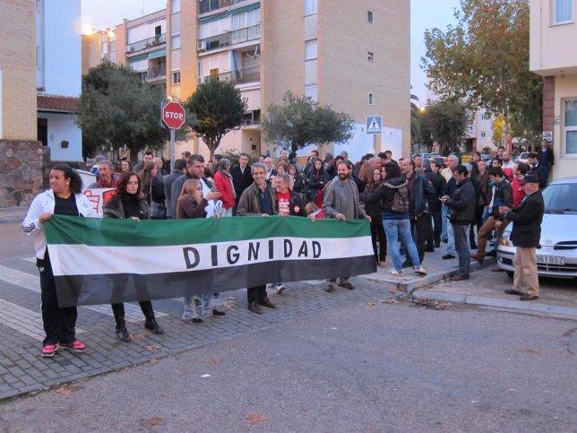 Manifestación 29-N en Mérida
