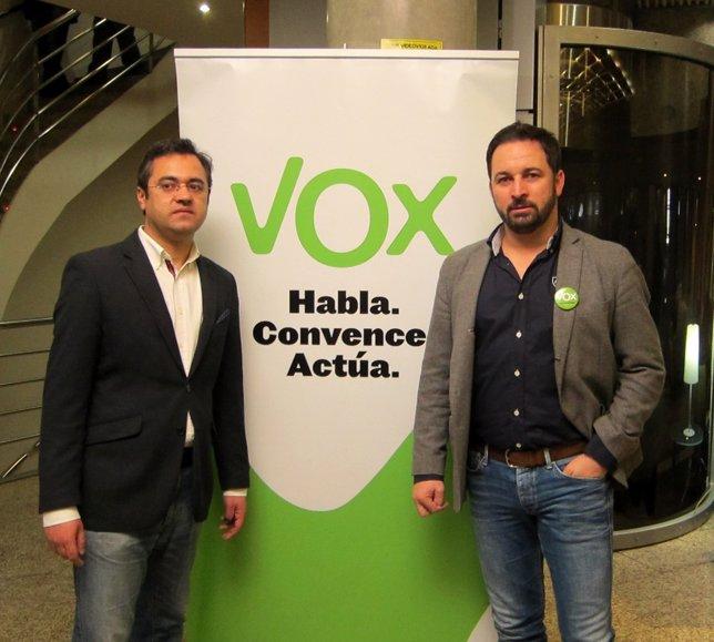 Santiago Abascal en el I Encentro Nacional de Política Municipal en Valladolid