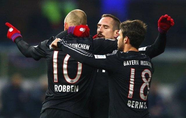 Robben dispara al líder Bayern