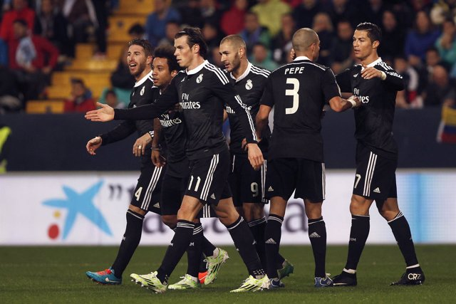 Real Madrid vence al Málaga