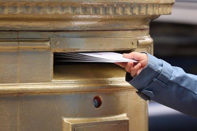 Carta, cartas, buzón, correo