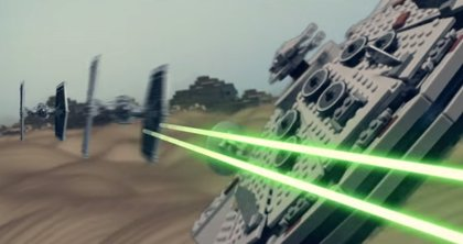 VÍDEO: TráilerLEGO de Star Wars: The Force Awakens