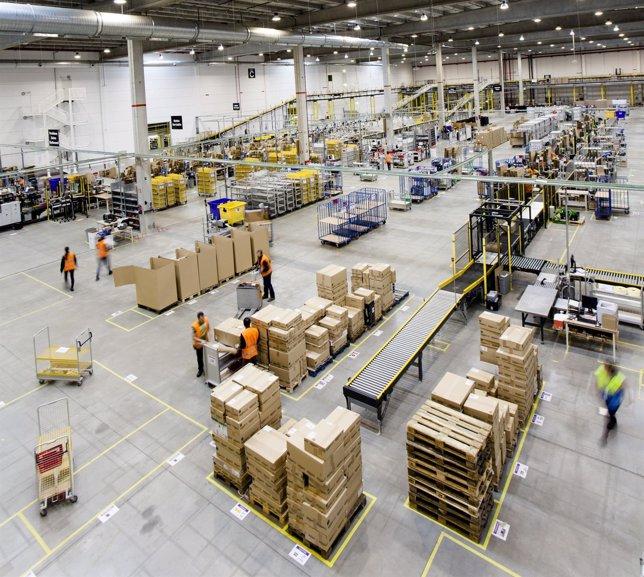 Centro logístico de Amazon.Es