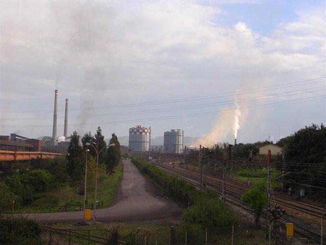 ArcelorMittal en Gijón