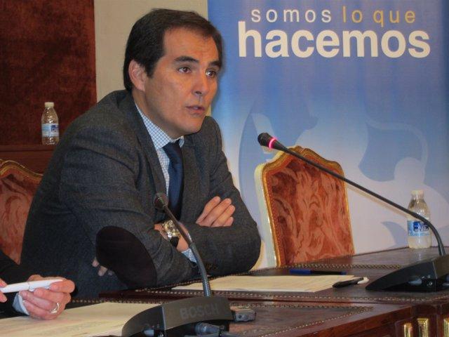 Nieto en la Diputación de Córdoba