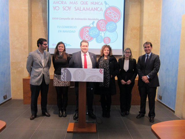 Presentación de la XXVII Campaña de Animación Navideña de Salamanca