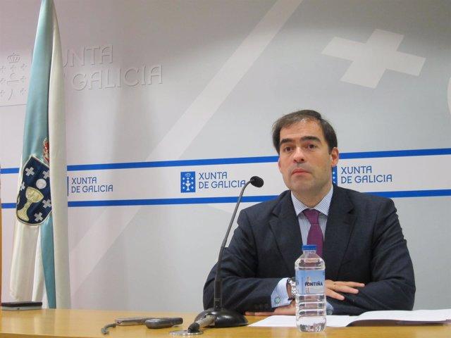 El director xeral de Administración Local, José Alberto Pazos Couñago