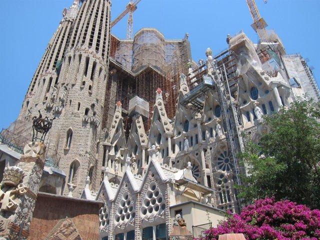 Sagrada Familia en Barcelona
