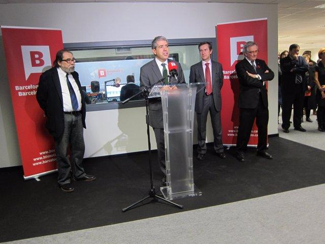 Presentación de 'Barcelona FM'