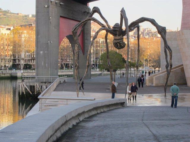 Uno de los puntos más visitados por los turistas en Bilbao