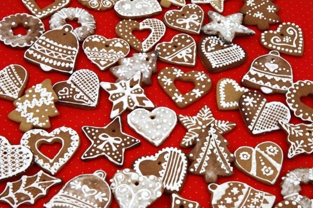 Ejemplos de decoración navideña