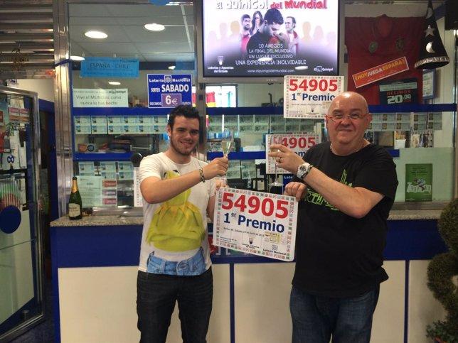 Primer premio de la Lotería