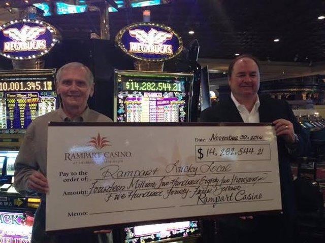 Un hombre de Las Vegas dona 14 millones de dólares ganados en un casino