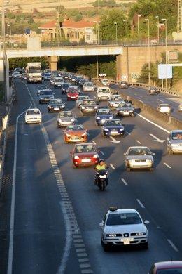 Carretera, circulación, coches