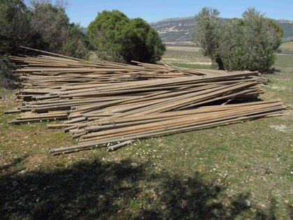 Cooperativas Agro-alimentarias recoge en su web casi 200 fotografías de material incautado por la Guardia Civil