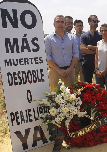 """Arranca en Los Palacios la tercera semana del """"boicot"""" al peaje de la AP-4"""