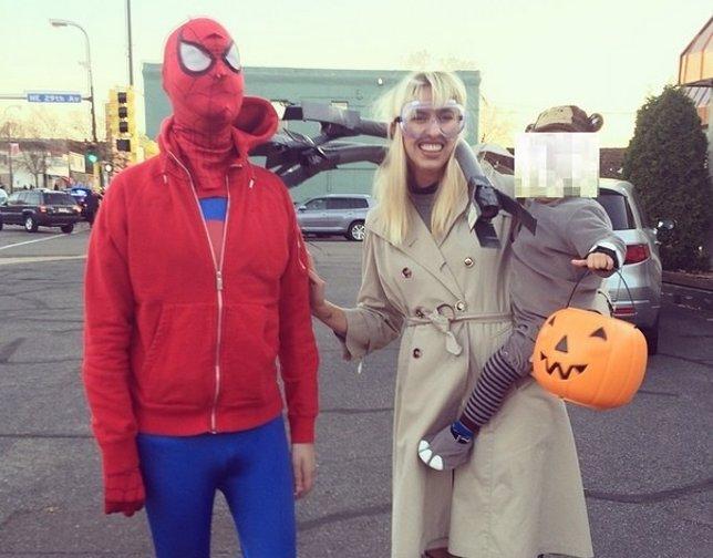El Spiderman contra el cáncer