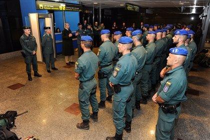 La Guardia Civil releva al contingente desplegado en la República Centroafricana