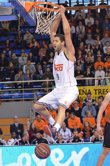 Felipe Reyes, MVP  de noviembre en la Liga Endesa