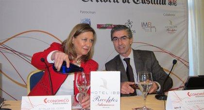 Del Olmo anima a las empresas con beneficios a que mejoren los salarios de sus empleados