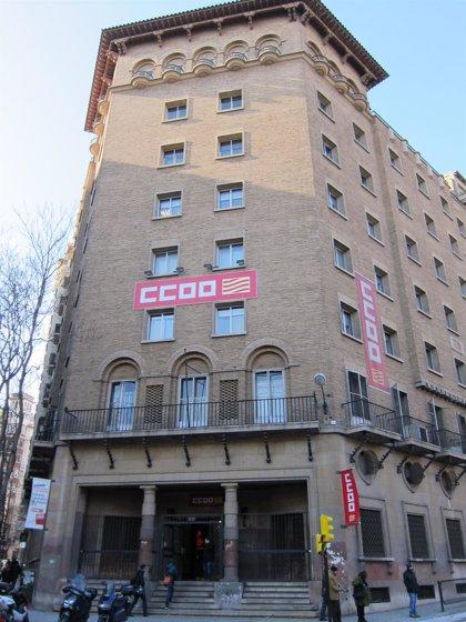 CC.OO. Aragón reclama políticas que trasladen la mejora de la economía al mercado laboral