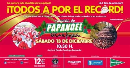 La carrera de Papá Noel intentará batir el récord Guinness de corredores disfrazados de Santa Claus