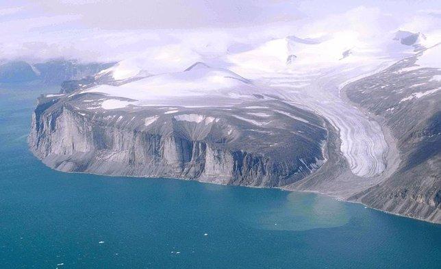 Glaciar ártico